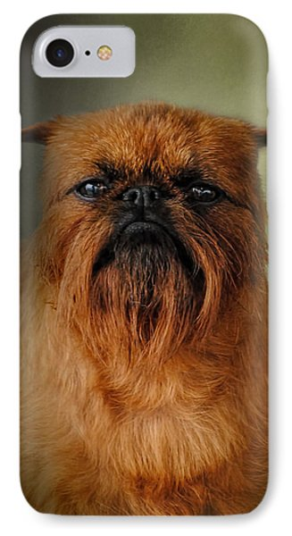 The Brussels Griffon IPhone Case by Jai Johnson
