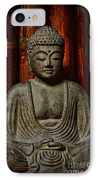 The Buddha IPhone Case by Paul Ward