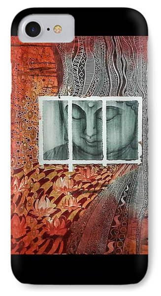 The Buddhist Color IPhone Case by Fei A