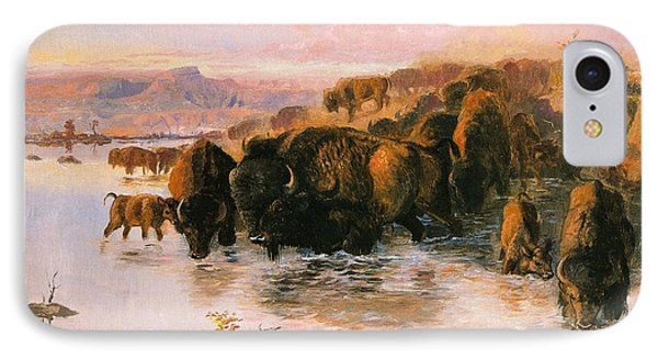 The Buffalo Herd IPhone Case