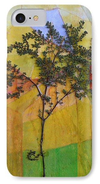 The Burn - Panel II Phone Case by Sandra Gail Teichmann-Hillesheim