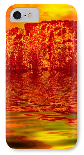 The Burning Zone Phone Case by Wendy J St Christopher