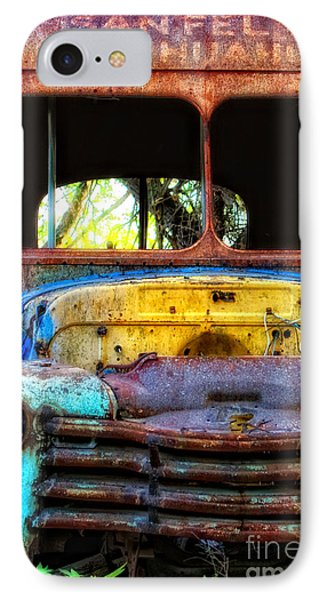The Bus Stops Here IPhone Case by Erika Weber
