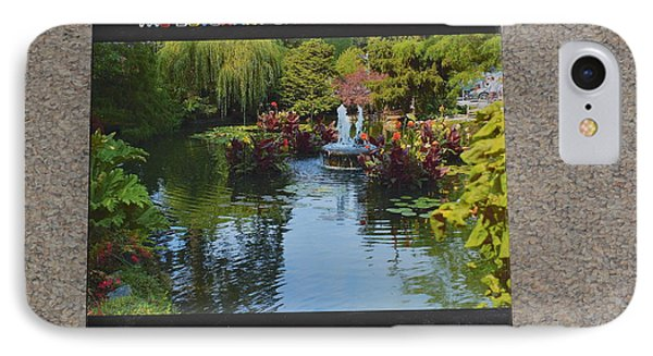 The Butchart Gardens - Photos By Lawrence Christopher IPhone Case by Lawrence Christopher
