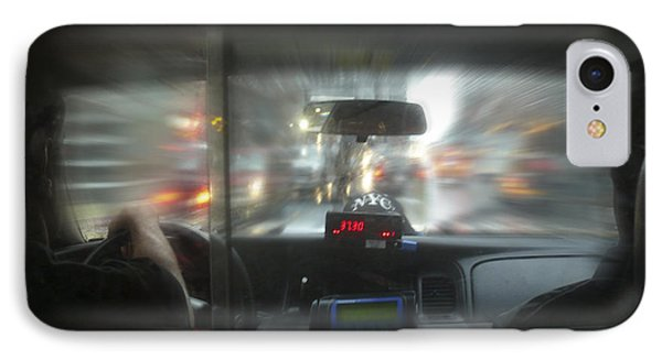 The Cab Ride Phone Case by Mike McGlothlen