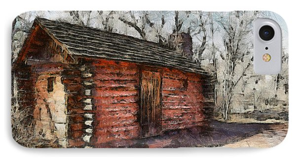 The Cabin IPhone Case by Ernie Echols