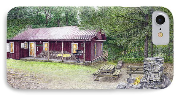 The Cabin In The Woods IPhone Case by Albert Puskaric
