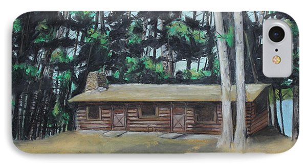 The Cabin IPhone Case by Jeanne Fischer
