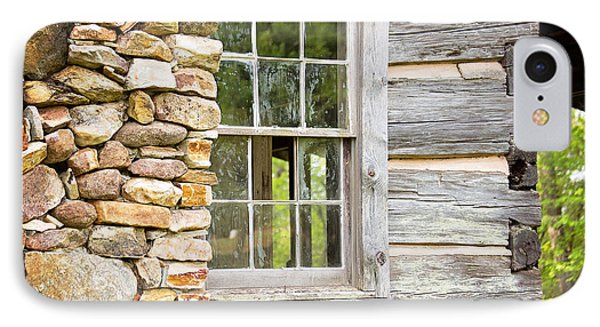 The Cabin Window IPhone Case by Sally Simon