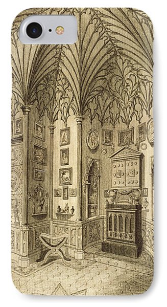 The Cabinet, Engraved By T. Morris Phone Case by English School