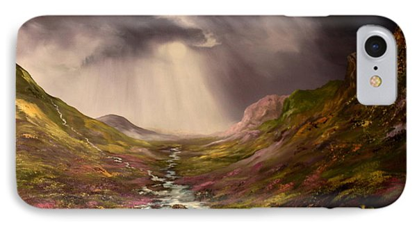 The Cairngorms In Scotland IPhone Case by Jean Walker