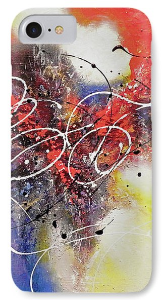 IPhone Case featuring the painting The Calm Before The Storm by Patricia Lintner