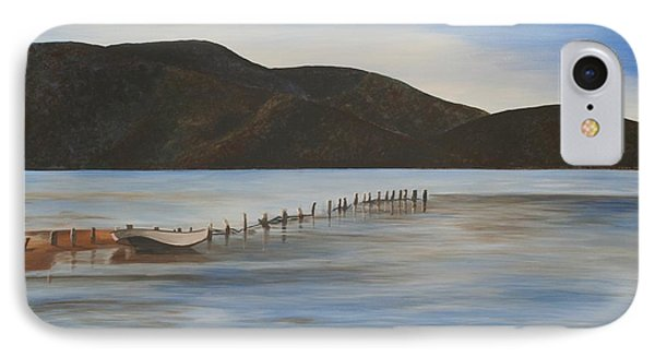 IPhone Case featuring the painting The Calm Water Of Akyaka by Tracey Harrington-Simpson