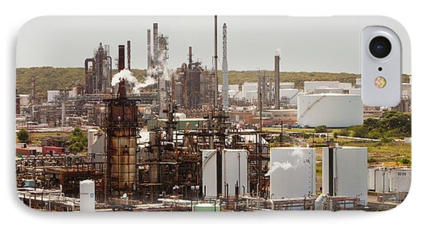 The Caltex Oil Refinery IPhone Case