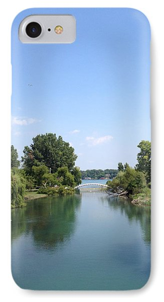 IPhone Case featuring the photograph The Canal by Michael Rucker