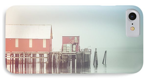 The Cannery In Fog IPhone Case by Michele Cornelius