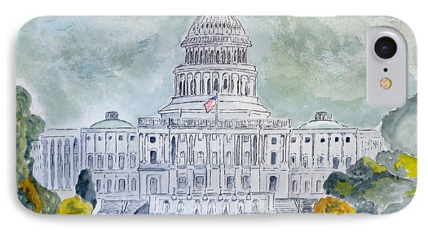 The Capitol Hill IPhone Case by Eva Ason