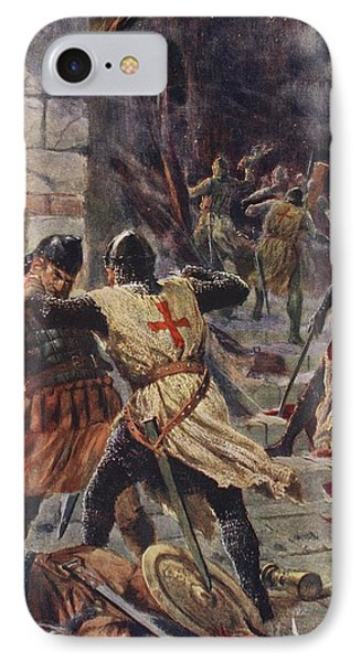 The Capture Of Constantinople IPhone Case by John Harris Valda