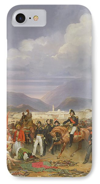 The Capture Of Morea Castle, 30th October 1828, 1836 Oil On Canvas IPhone Case by Jean Charles Langlois