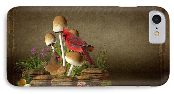 The Cardinal IPhone Case by Davandra Cribbie