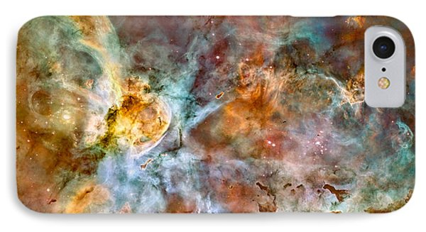 The Carina Nebula - Star Birth In The Extreme IPhone Case by Marco Oliveira