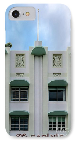 The Carlyle Art Deco Detail South Beach Miami IPhone Case