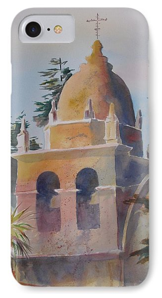 The Carmel Mission IPhone Case