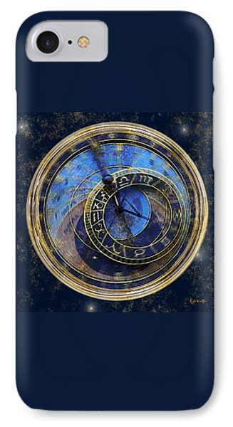 The Carousel Of Time Phone Case by RC deWinter