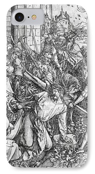 The Carrying Of The Cross IPhone Case by Albrecht Durer or Duerer