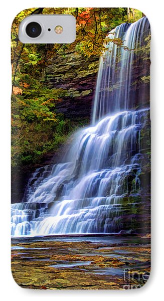The Cascades IPhone Case by Darren Fisher