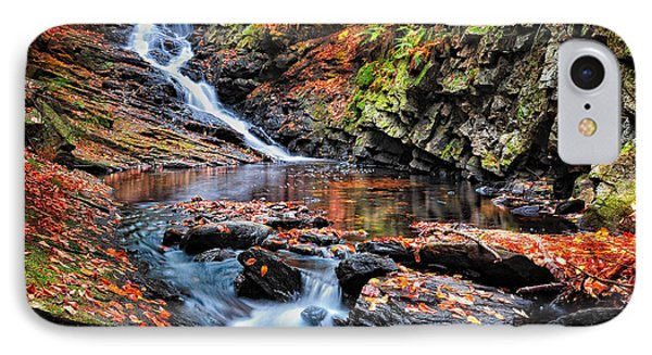 The Cascades Of Chesterfield Gorge IPhone Case