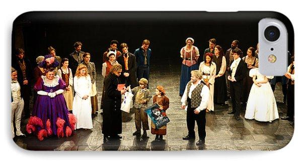 The Cast Of Les Miserables IPhone Case by Diane Lent