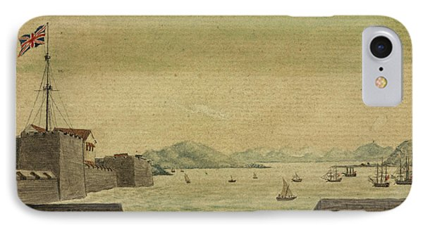 The Castle And Harbour Of Bombay IPhone Case by British Library