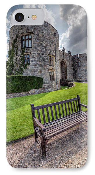 The Castle Bench Phone Case by Adrian Evans