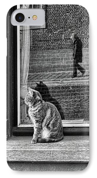 The Cat, The Lady And ... IPhone Case