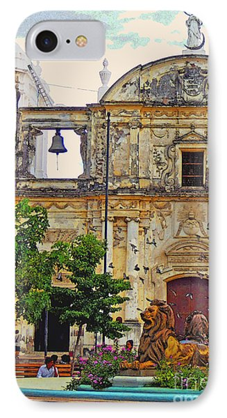 The Cathedral Of Leon IPhone Case by Lydia Holly