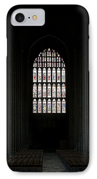 The Cathedral Sits Empty Phone Case by Lisa Knechtel