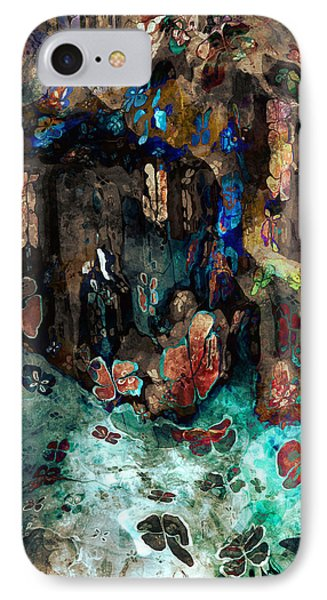 The Cave IPhone Case by Kim Redd