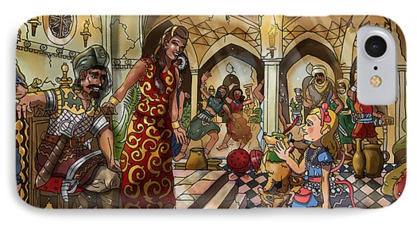 The Cave Of Ali Baba IPhone Case by Reynold Jay