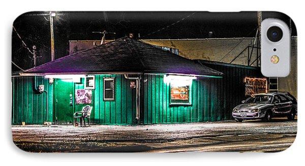 IPhone Case featuring the photograph The Cedar St. Inn by Ray Congrove