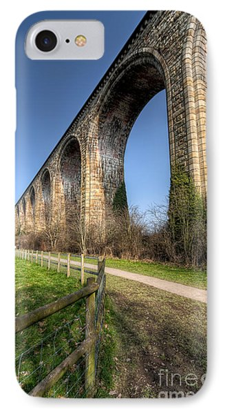 The Cefn Mawr Viaduct IPhone Case by Adrian Evans