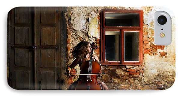 The Cellist IPhone Case by Movie Poster Prints