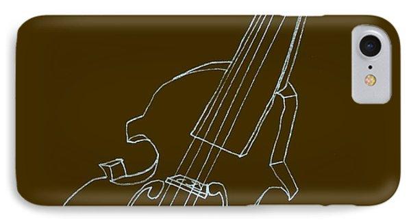 The Cello Phone Case by Michelle Calkins