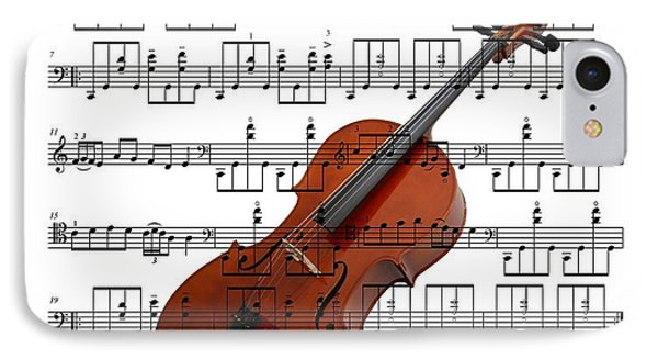 The Cello IPhone Case by Ron Davidson