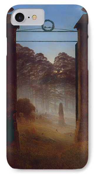The Cemetery IPhone Case by Mountain Dreams