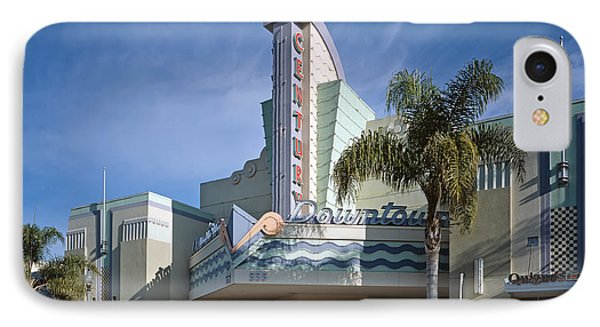 The Century Theatre In Ventura IPhone Case by Mountain Dreams