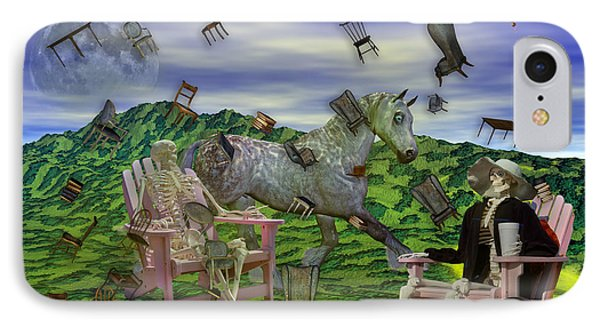 The Chairs Of Oz IPhone Case by Betsy Knapp