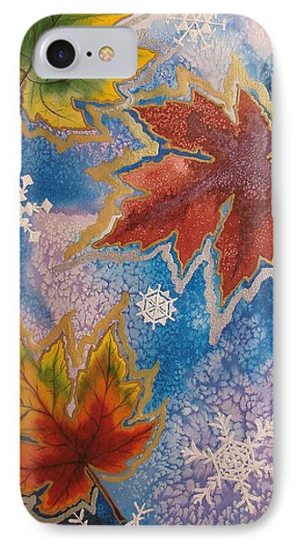 IPhone Case featuring the painting The Change by Margaret Bobb
