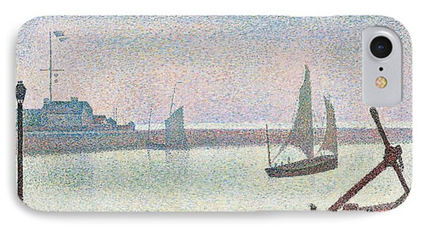 The Channel At Gravelines In The Evening IPhone Case