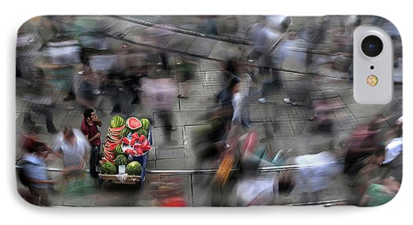 The  Chaos Of The City IPhone Case